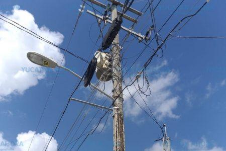 Sin energía eléctrica, también en San Juan Grande