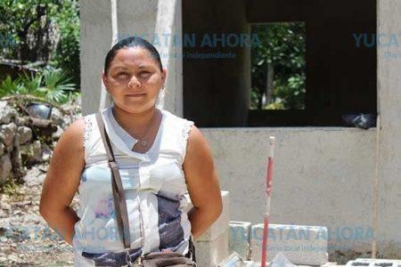 Beneficia Antorcha a familias de Espita con mejoramiento de vivienda