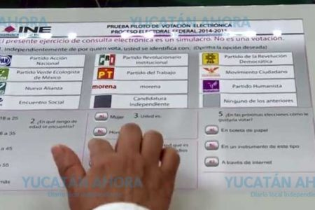 Yucatán, con votación electrónica para 2021