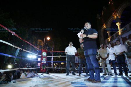 Inauguran el torneo municipal 'Mérida Me Mueve en el Boxeo'