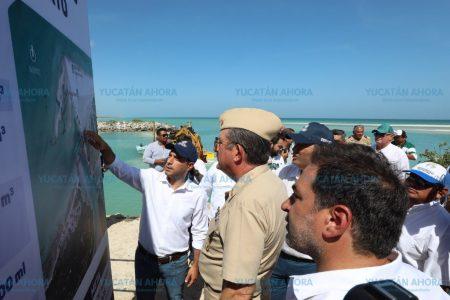 Recuperación de la costa yucateca, con base en estudios de la UNAM