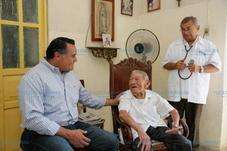 Renán Barrera amplía 'Médico a domicilio' hasta fines de semana