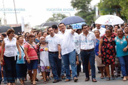 La unión hace la pavimentación de 23 kilómetros de calles en Mérida