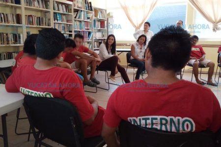 Con lectura, celebran en el Ceama el Día Internacional de la Juventud