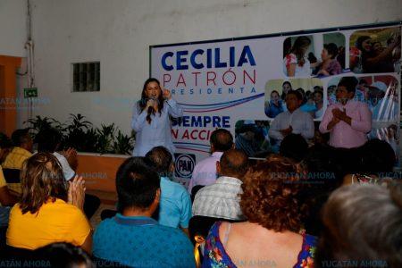 Estamos listos para devolverle al PAN su grandeza: Cecilia Patrón