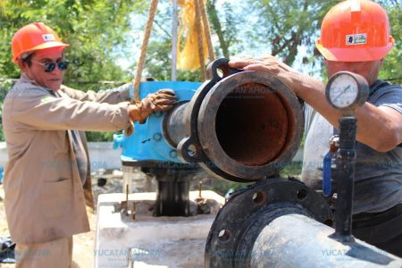 Japay repara el sistema de agua potable de Dzidzantún