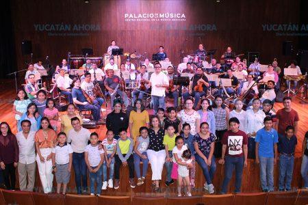 Orquesta Típica Infantil y Juvenil de Tekax, realidad cada vez más cercana