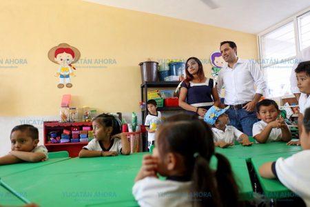 Nuevo curso, renovadas escuelas en Yucatán