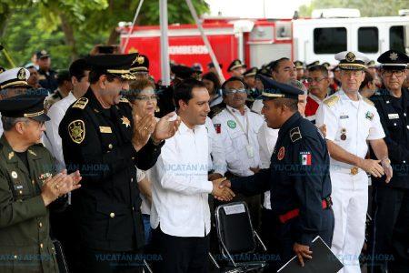 Los bomberos de Yucatán, ante nuevos retos