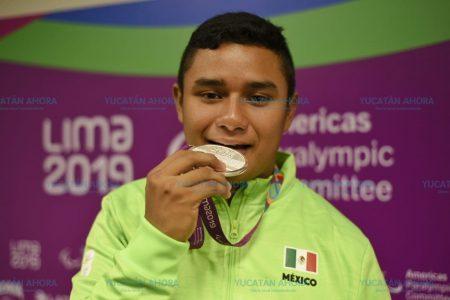 Tenismesista yucateco Ariff Vázquez gana plata en Para Panamericanos
