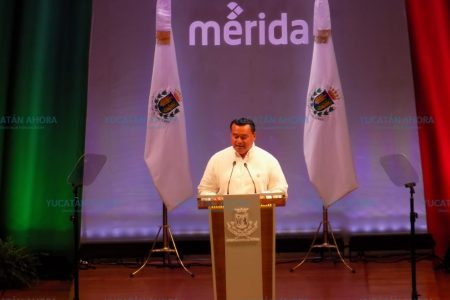 En cuestión de seguridad, Mérida se pinta sola: Renán Barrera