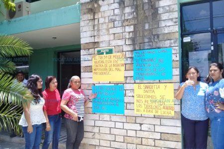 Protestan trabajadores agrarios: les quitan prestaciones