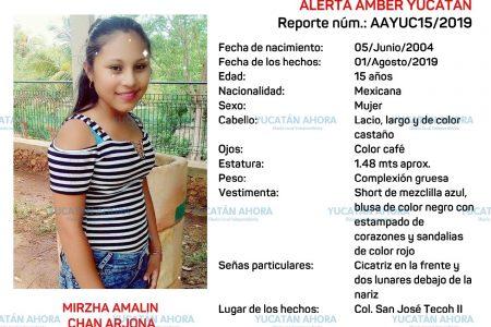 Piden ayuda para localizar a quinceañera desaparecida