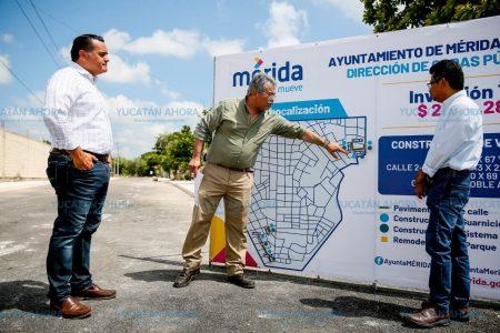Avanza el mejoramiento de vialidades en el sur de la ciudad