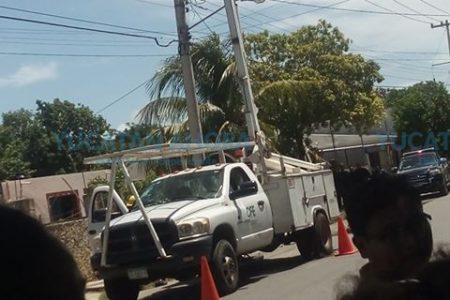 Siguen los problemas con la luz en San José Tecoh