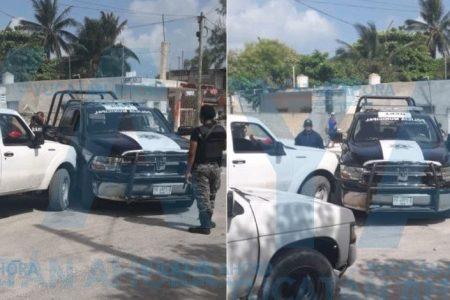 Detención y pedradas en Chelem