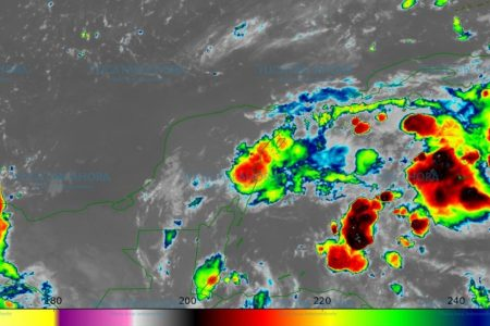 Conagua pronostica lluvias fuertes para este martes