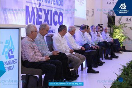 Coparmex mantiene rumbo y compromiso con la democracia