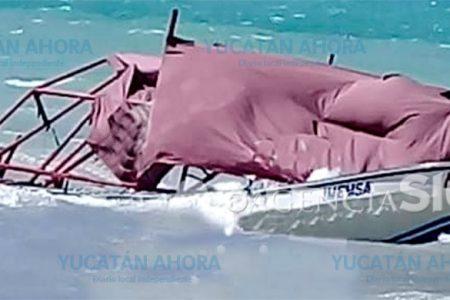Vuelca lancha en Isla Aguada y mueren dos yucatecas