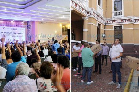 Intenso domingo político en Yucatán: elecciones en PAN y PRI