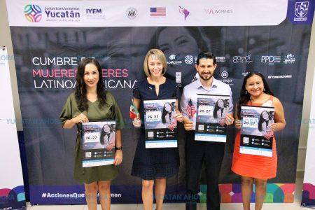 Yucatán, sede de la Cumbre de Mujeres Líderes de Latinoamérica