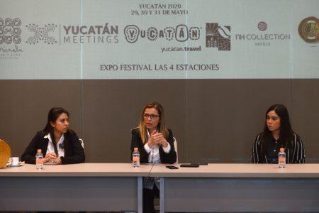 Promueven en Guadalajara Festival Las 4 Estaciones Mérida 2020