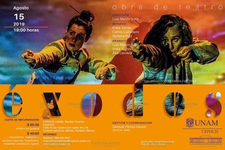 Exodos, una mirada teatral a las migraciones forzadas en Yucatán