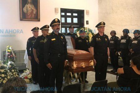 Sentido adiós al oficial de la SSP