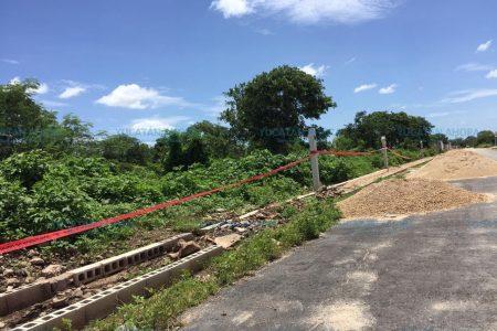 Le sale 'dueño' al terreno del parque en San Antonio Hool-Dzityá