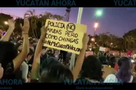 Yucatán se suma a la 'Brillanteada' nacional #NoMeCuidanMeViolan
