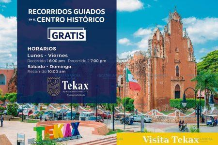 Nuevo atractivo en Tekax: recorridos por su centro histórico