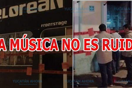 La música NO es ruido; convocan a protesta tras clausura de bares