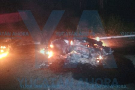 Tragedia motorizada: chocan dos motos en carretera
