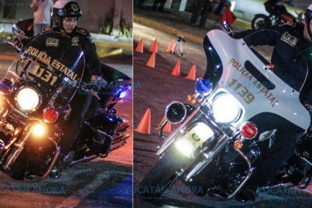 Motociclistas de la SSP triunfan en concurso de Harley Davidson