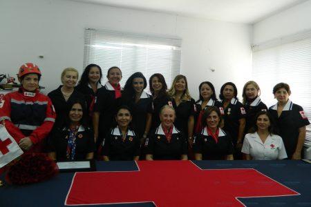 Nueva coordinadora local de Damas Voluntarias de la Cruz Roja
