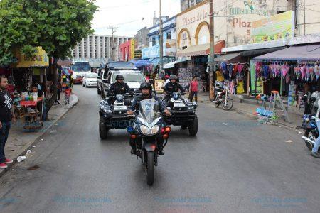 Concluye tranquilo operativo vacacional en el centro de Mérida