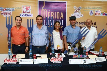 Presentan el Mérida Restaurant Week 2019, mantendrá precio de $119