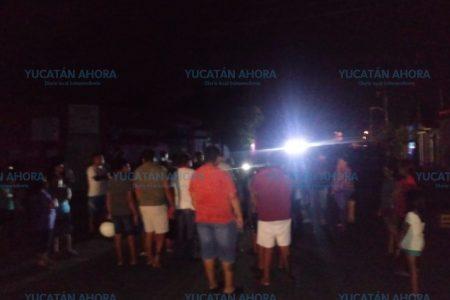 Nuevo apagón en San José Tecoh; arderán las calles, advierten vecinos