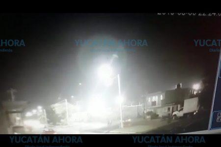 Extraño robo en una bodega de lámparas en Progreso