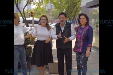 Se suma Ulises Ruiz a la candidatura de Ivonne Ortega y Pepe Alfaro