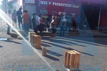 Nueve horas sin solución de la CFE en San José Tecoh