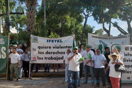 Telefonistas acusan al Ifetel de dejarlos en incertidumbre laboral