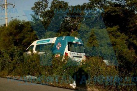 Accidentado traslado de un enfermo hacia el O'Horán