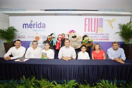 Renán Barrera anuncia la Feria Internacional del Libro Infantil y Juvenil