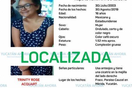 Localizan a una de las adolescentes desaparecidas en agosto