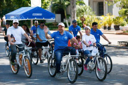Cumple 13 años la Bici-ruta en Mérida