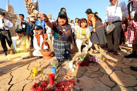 Desde Mérida le piden perdón a la Madre Tierra por tanto daño