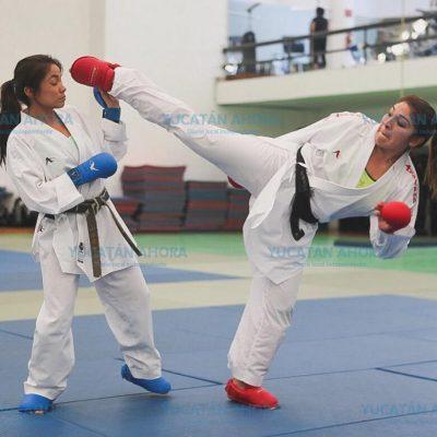 Karateca Lupita Quintal se consolida rumbo a Tokio 2020