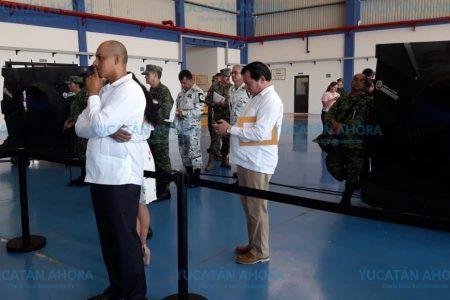 El 'apartheid' político de Díaz Mena durante la visita de AMLO