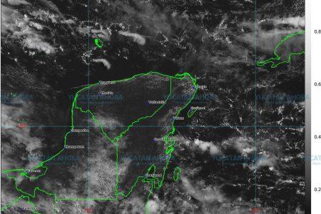 Onda tropical 38 dejará lluvias en Yucatán